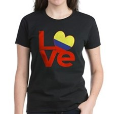Red Colombia LOVE Tee