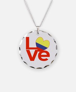 Red Colombia LOVE Necklace