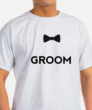 Groom with bow tie T-Shirt