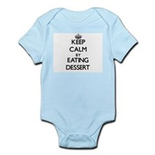 Keep calm by eating Dessert Body Suit