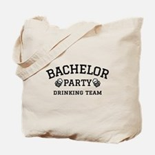 Bachelor Party drinking team Tote Bag