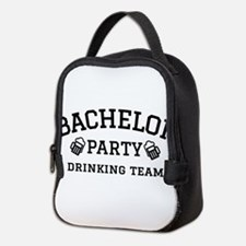 Bachelor Party drinking team Neoprene Lunch Bag