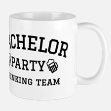 Bachelor Party drinking team Mugs