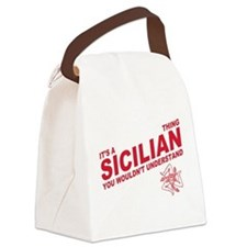 Sicilian thing Canvas Lunch Bag