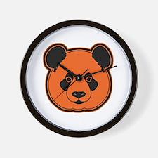 panda head 10 Wall Clock
