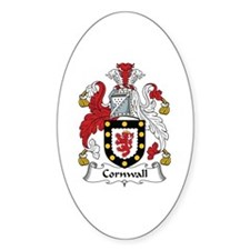 Cornwall Oval Decal