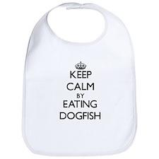 Keep calm by eating Dogfish Bib