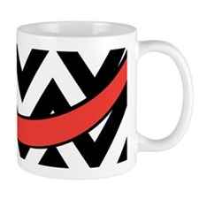 With A Red Bow Mug