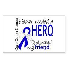 Colon Cancer HeavenNeededHero1 Decal