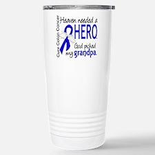 Colon Cancer HeavenNeed Travel Mug