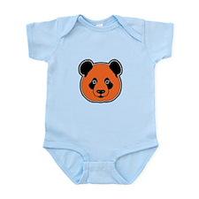 panda head 11 Infant Bodysuit