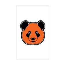 panda head 11 Decal