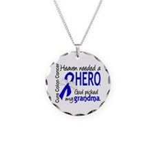 Colon Cancer HeavenNeededHer Necklace