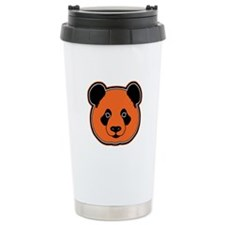 panda head 12 Travel Mug