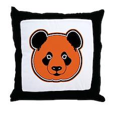 panda head 12 Throw Pillow