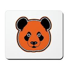 panda head 12 Mousepad