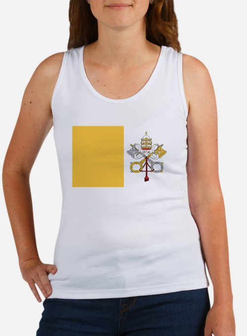 vatican-city flag gifts Tank Top