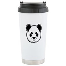 panda head 13 Travel Mug