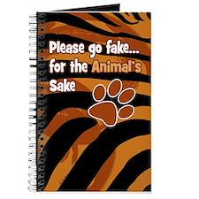 Tiger Print Journal