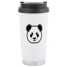 panda head 14 Travel Coffee Mug