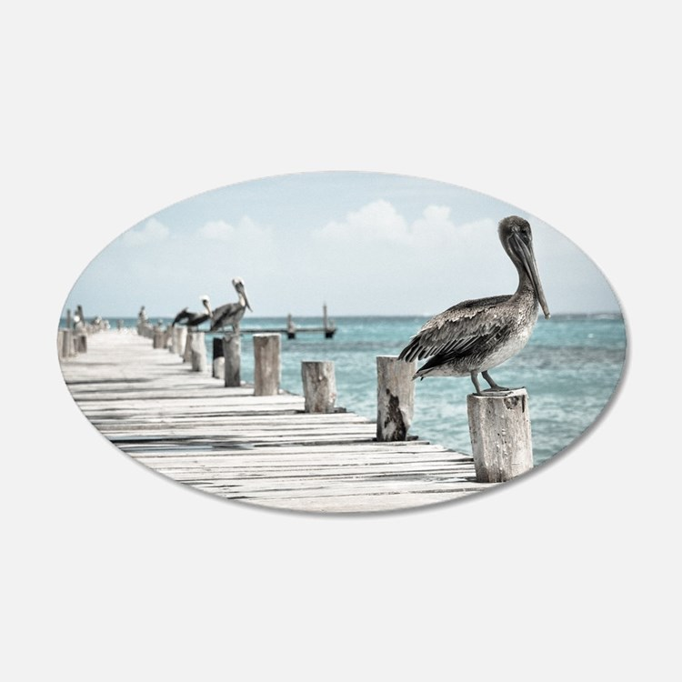 Pelicans Wall Decal