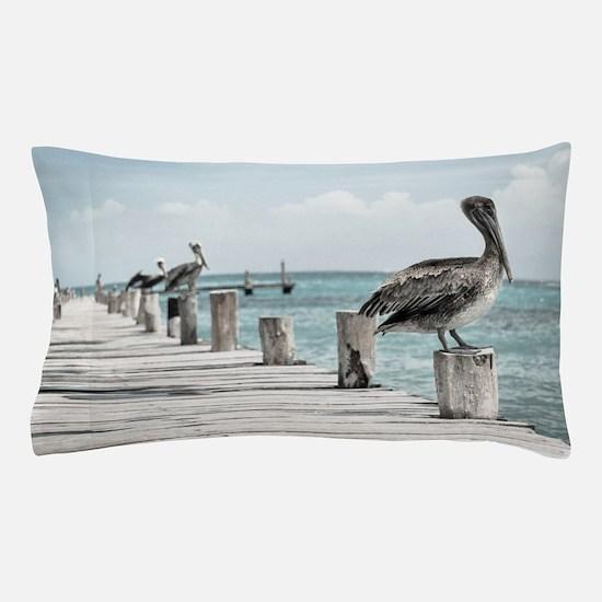 Pelicans Pillow Case