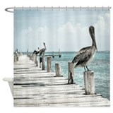 Pelican Shower Curtains