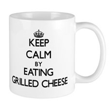Keep calm by eating Grilled Cheese Mugs
