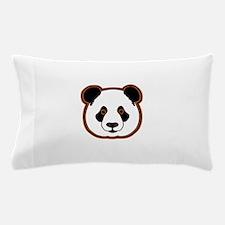 panda head 15 Pillow Case
