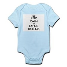 Keep calm by eating Grilling Body Suit