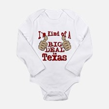 Big Deal - Texas Long Sleeve Infant Bodysuit