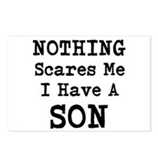Nothing Scares Me I Have a Son Postcards (Package