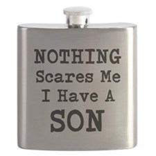 Nothing Scares Me I Have a Son Flask