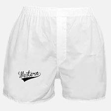 Western, Retro, Boxer Shorts