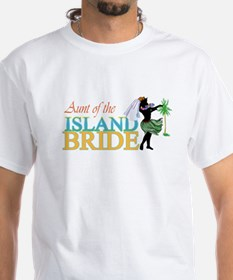 Aunt of the Island Bride Shirt