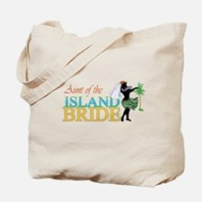 Aunt of the Island Bride Tote Bag