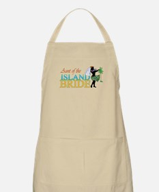 Aunt of the Island Bride BBQ Apron
