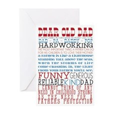 Dear Old Dad Greeting Cards