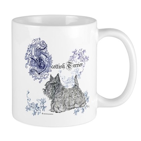 Scottish Terrier Graphic Mug