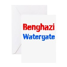 Benghazi Watergate Greeting Cards