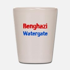Benghazi Watergate Shot Glass