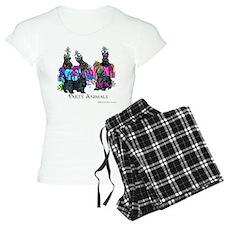 Scottish Terrier Party Anim Pajamas