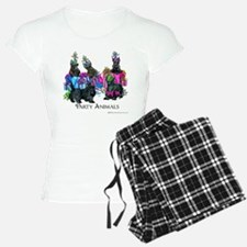 Scottish Terrier Party Anim Pajamas