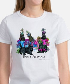 Scottish Terrier Party Animals Women's T-Shirt