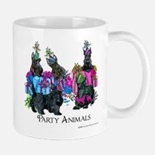 Scottish Terrier Party Animals Mug