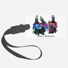 Scottish Terrier Party Animals Luggage Tag