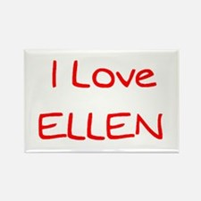 ellen Rectangle Magnet