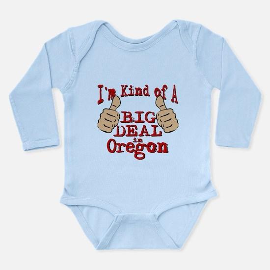 Big Deal - Oregon Long Sleeve Infant Bodysuit