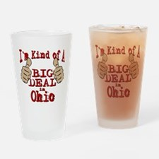 Big Deal - Ohio Drinking Glass