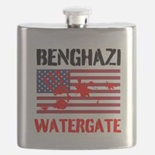 Benghazi Watergate Flask